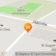 Kartta K-market Jääli Jääli, Suomi