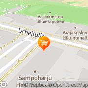 Kartta S-market Vaajakoski Vaajakoski, Suomi