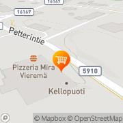 Kartta S-market Vieremä Vieremä, Suomi