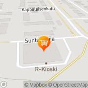 Kartta S-market Peitsari Mikkeli, Suomi