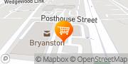 Map FreshStop at Caltex PostHouse Bryanston, South Africa