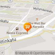 Kartta K-market Hovikulma Savonlinna, Suomi