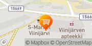 Kartta S-Market Viinijärvi Viinijärvi, Suomi