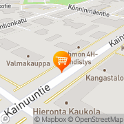 Kartta Kainuun Osuusmeijeri Kuhmo, Suomi