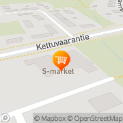 Kartta S-Market Karsikko Joensuu, Suomi