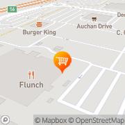 Carte de Auchan RONCQ Roncq, France