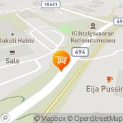 Kartta Sale Kiihtelysvaara Kiihtelysvaara, Suomi