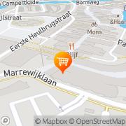 Kaart Kaldi Koffie & Thee Spijkenisse, Nederland