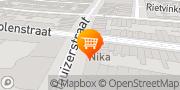 Kaart Nika Koffie en Thee Rotterdam, Nederland