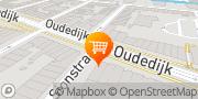 Kaart Westerkaatje Traiteur Rotterdam, Nederland