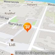 Kaart Plus Doesburg Puttershoek, Nederland