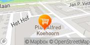 Kaart PLUS Alfred Koehoorn Hendrik-Ido-Ambacht, Nederland