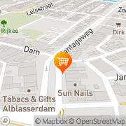 Kaart Kruidenhuis 't Alblasserdam, Nederland