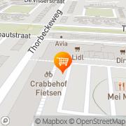 Kaart Super De Boer Dordrecht, Nederland