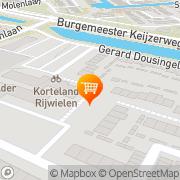 Kaart Taria West Papendrecht, Nederland