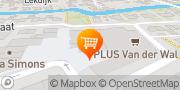 Kaart PLUS Van der Wal Nieuw-Lekkerland, Nederland