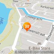 Kaart Ropaja Indonesisch Catering Alkmaar, Nederland