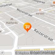 Kaart Drop Inn Den Helder, Nederland