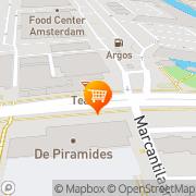 Kaart Sernay Citrus BV Amsterdam, Nederland