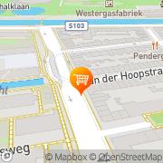 Kaart Onze Hanny Snackbar Amsterdam, Nederland