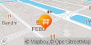 Kaart Febo Amsterdam, Nederland