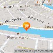 Kaart Häagen-Dazs Kalvertoren Amsterdam, Nederland