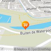 Kaart Boulevard Petit Restaurant en Cafetaria Gorinchem, Nederland