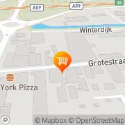 Kaart Ikrram Market Waalwijk, Nederland