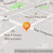 Kaart Natuurwinkel De Utrecht, Nederland