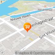 Kaart Vesting Snackbar De Naarden, Nederland