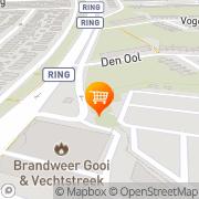 Kaart Kamrad Snackbar 't Hilversum, Nederland