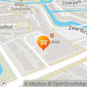 Kaart Mickey Cafetaria 's-Hertogenbosch, Nederland