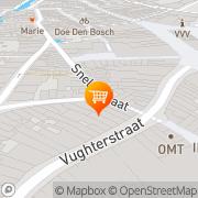 Kaart Voltaire Koffiehuis Café 's-Hertogenbosch, Nederland