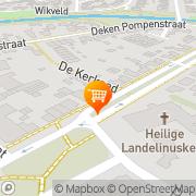 Kaart Uden W van 's-Hertogenbosch, Nederland