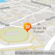 Kaart Tarantella Cafetaria Bar Koudum, Nederland