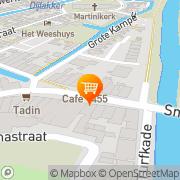 Kaart Petit Restaurant Poortje 't Bolsward, Nederland