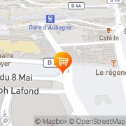 Carte de Restaurant Au Palatin Aubagne, France