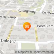 Kaart Moestuinderij De Druten, Nederland