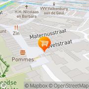 Map Cato Catering Rekem, Belgium