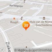 Kaart Hilst Koffie en Thee Van Nijmegen, Nederland