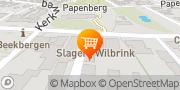 Kaart Wilbrink Uw Slager Beekbergen, Nederland