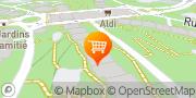 Carte de ALDI Les Avanchets Vernier, Suisse