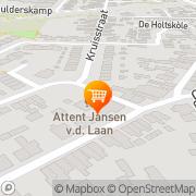 Kaart Jansen-vd Laan Fa Zutphen, Nederland