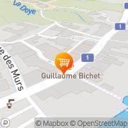 Carte de Guillaume Bichet - Salon de thé Coppet, Suisse