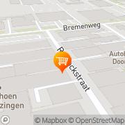 Kaart Have Koffiebranders en Theepakkerij BV K ten Deventer, Nederland