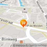 Kaart Supermarkt Dunnink De Wijk, Nederland
