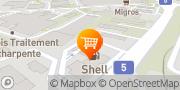 Carte de migrolino-Shop Yverdon-les-Bains, Suisse