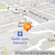 Carte de Gedom Vallauris, France