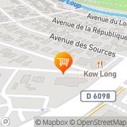 Carte de Sing Long Villeneuve-Loubet, France