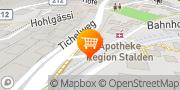 Carte de migrolino-Shop Stalden, Suisse